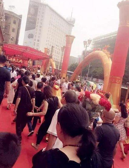 卓泰集团金水湾广场重装开业庆典