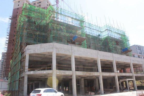 完美生活7月工程进度 4号栋、5号栋全城热销