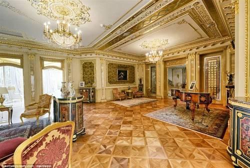 欧式皇宫的客厅图片