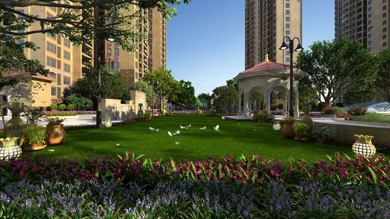永州楼市盛宴之中添·领秀:公园旁的精质美宅
