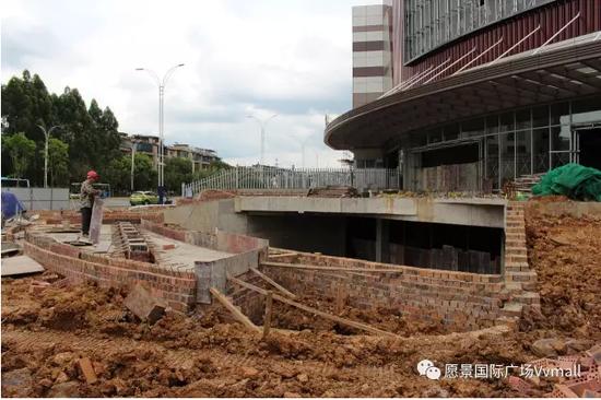愿景国际广场 VVMALL2017年七月工程进度