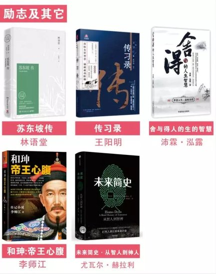 舜德湘江换书活动『书单展示』四月,让书与你相遇