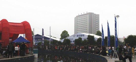 永州春季车展盛大开幕 各种车型酷炫来袭