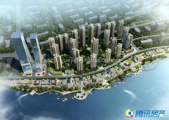 中建总公司董事长易军视察中建·梅溪湖中心项