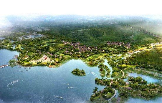 南湖黄梅港湿地水生态修复工程开工
