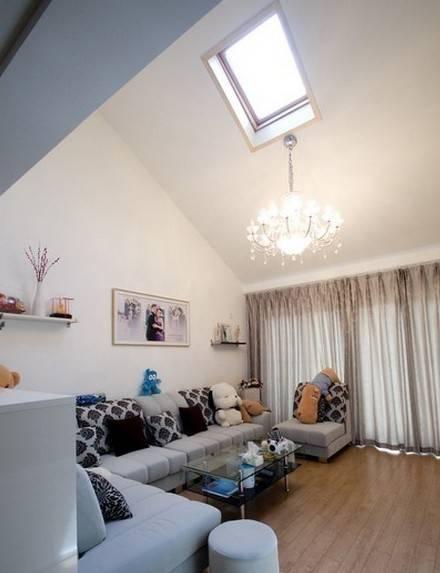 45平米小户型装修:loft风格的房子总是不少年轻人的向往,简单的比划一