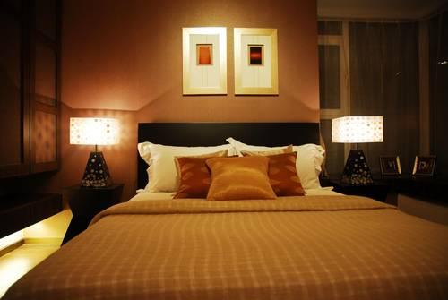端庄典雅,中式客厅与卧室设计