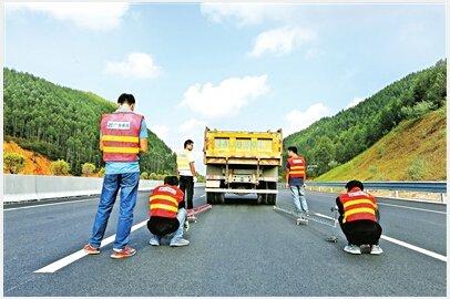 江罗高速(新兴先行段)即将通车