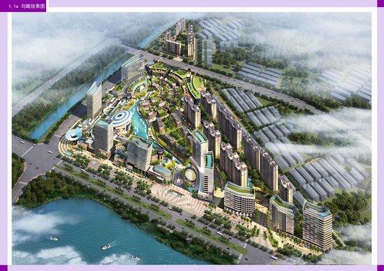 """玉溪第一个""""生态公园型城市综合体""""—临岸三千城"""