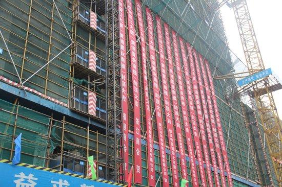 黄浦中心主体结构顺利完成