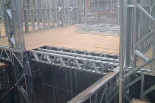 高抗震建筑结构(轻钢结构)图片