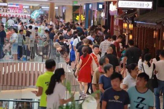 这家开发商购物中心竟然能够抚慰乡愁 你想不想来逛?