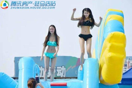 驻马店首届水上乐园今天盛大开园,邀您尽情玩水,清凉一夏!