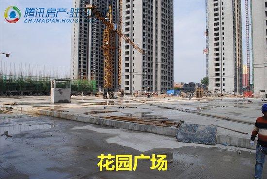 沪强·巴黎春天6工程进度播报