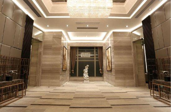 五星级大堂装修标准.该项目不惜成本打造酒店式精装式双入户高清图片