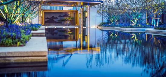 碧桂园·玖玺台:湖山玖玺 一园中国
