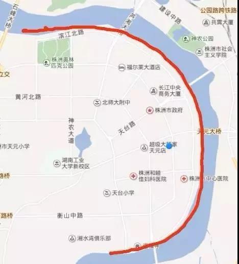 中建·江湾壹号株洲市第四届半程马拉松邀请赛12月16 鸣枪开跑!