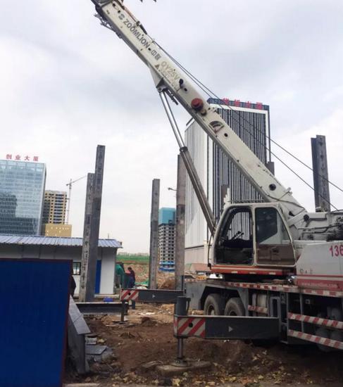 """【QQ探盘】新区中德大厦售楼处开建了! 嘉亿国际二期""""家""""音又至!"""