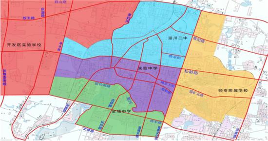关于淄川区2017年城区及周边义务教育段学校划片招生范围的公告