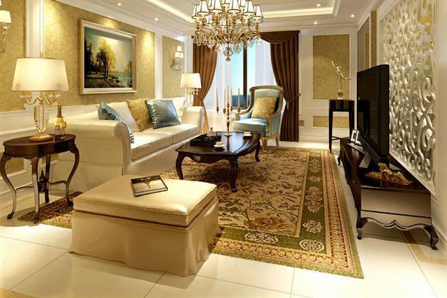欧式风格客厅的特点有哪些