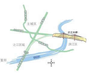 钱江七桥本月底将通车 小客车预计收费少于15元
