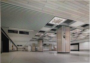 """地铁2号线装修主题为""""烟雨杭州"""" 能找到画或诗"""