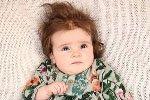 宝宝出生就有浓密秀发