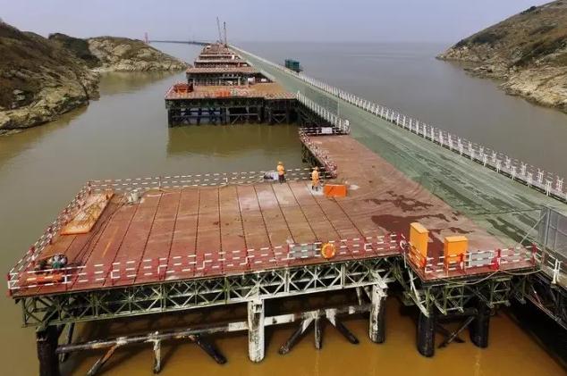 舟山又一座跨海大桥雄起 航拍视频先睹为快