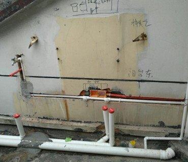 墙面水电管线不能同槽