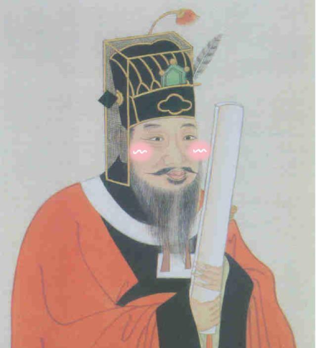 唐朝皇帝腊八节发胭脂 你见过涂上腮红的大臣吗?