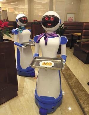慈溪机器人餐厅歇业一周 顾客太多机器人被玩坏