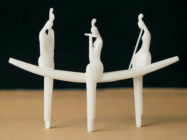 3D打印邂逅传统雕塑:东方古韵与数字艺术切换自如