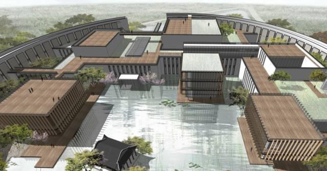 马云的湖畔大学正式公示 最新一波设计图出炉
