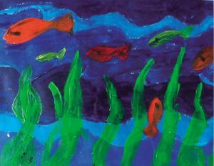 圆梦:自闭症儿童画作义卖 让父母们每周休息一天
