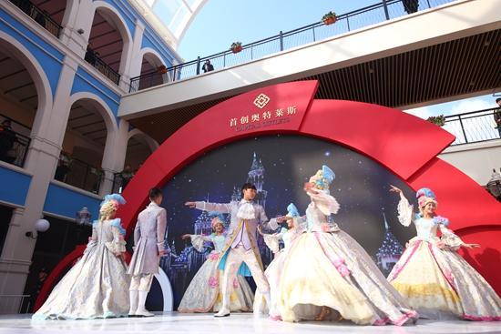 杭州首创奥特莱斯璀璨启幕 杭州富阳再添新地标