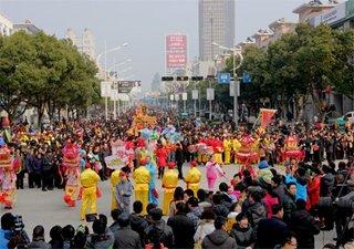 这个春节安吉共组织60场文化活动