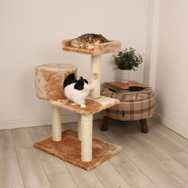 选择猫爬架的四个注意事项