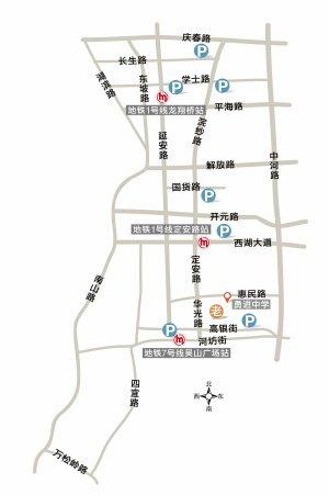 杭州清波区块将增7处停车场 车位数达1800个