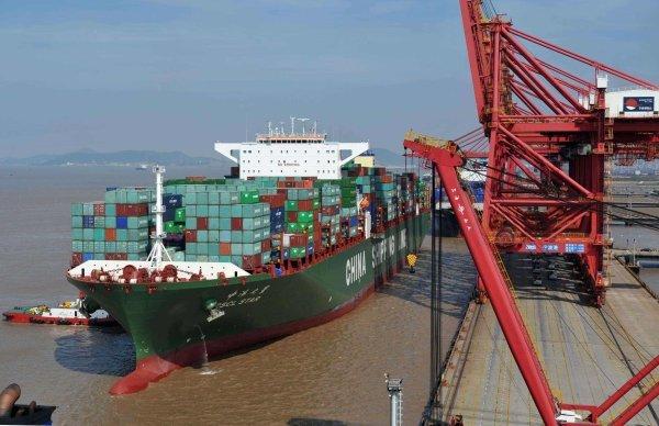 前7个月浙江进出口值增长9.3% 前三名是甬杭金