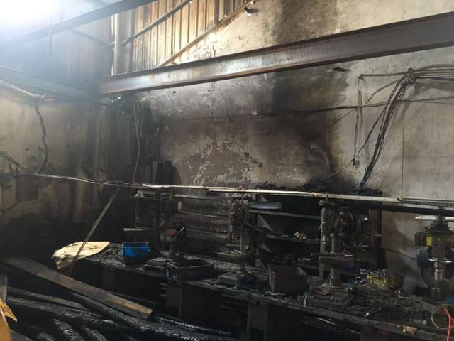 温州一厂房线路老化引发火灾 负责人被行政拘留