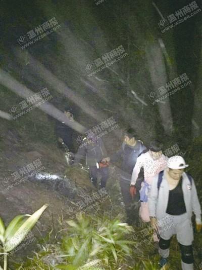 36名驴友迷路悬崖被困两人爬下深山求救报警邓伦头像表情包图片