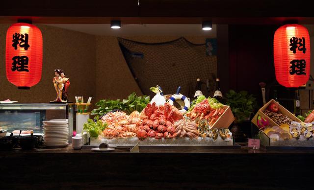 龙景雷迪森庄园自助餐图片
