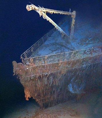 探秘世界七大著名沉船