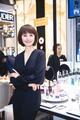 气质女星袁泉亲临兰蔻天猫超级品牌日倾情分享优雅态度