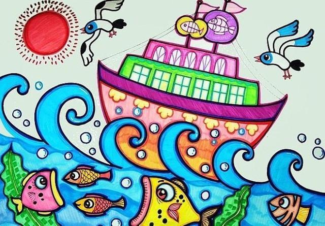 杭州长乔极地海洋公园绘画大赛 免费玩乐还有钱图片