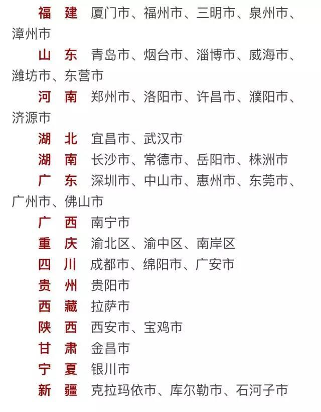 第五届全国文明城市名单公布 浙江9个城市入选