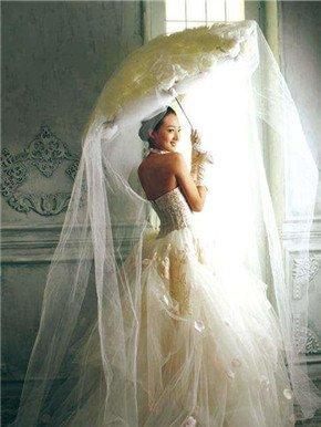 独特Mix搭法让你在婚礼上美成仙