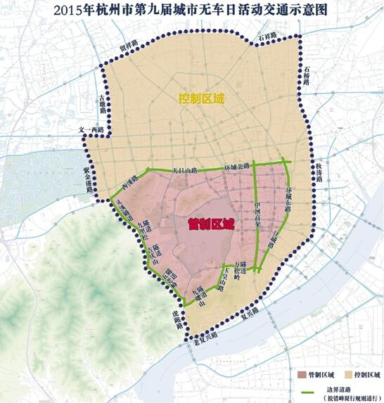 杭州笕桥学校战略地图