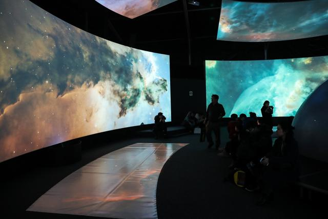2018杭州年度大展《星球奇境》带你360度穿越太阳系
