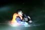 """义乌一男子被困在冰水塘中 拒绝救援后又反悔""""width="""
